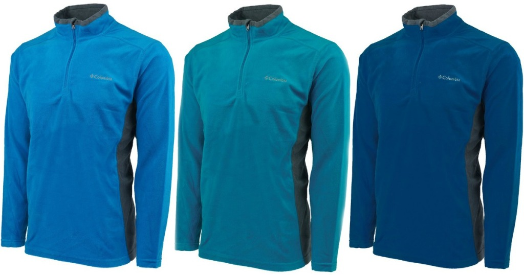 a38139e3898 Columbia Men s Half-Zip Fleece Pullover Just  19.99 Shipped ...
