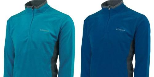 Columbia Men's Half-Zip Fleece Pullover Just $19.99 Shipped (Regularly $40)