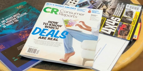 Consumer Reports Magazine Subscription Only $16.99 (Just $1.31 Per Issue)