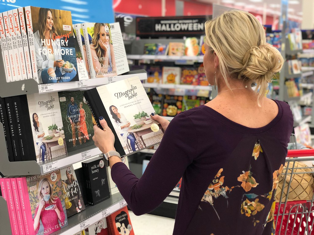 gift guide for chefs and cooks — magnolia table and cravings cookbooks at target