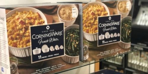 CorningWare 11-Piece Serveware Set Only $15.49 After Kohl's Rebate (Regularly $60)