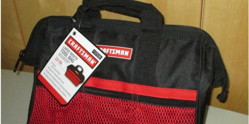 Craftsman 6-Pocket Wide Mouth Tool Bag Only $4.99 at Ace Hardware (Regularly $12)
