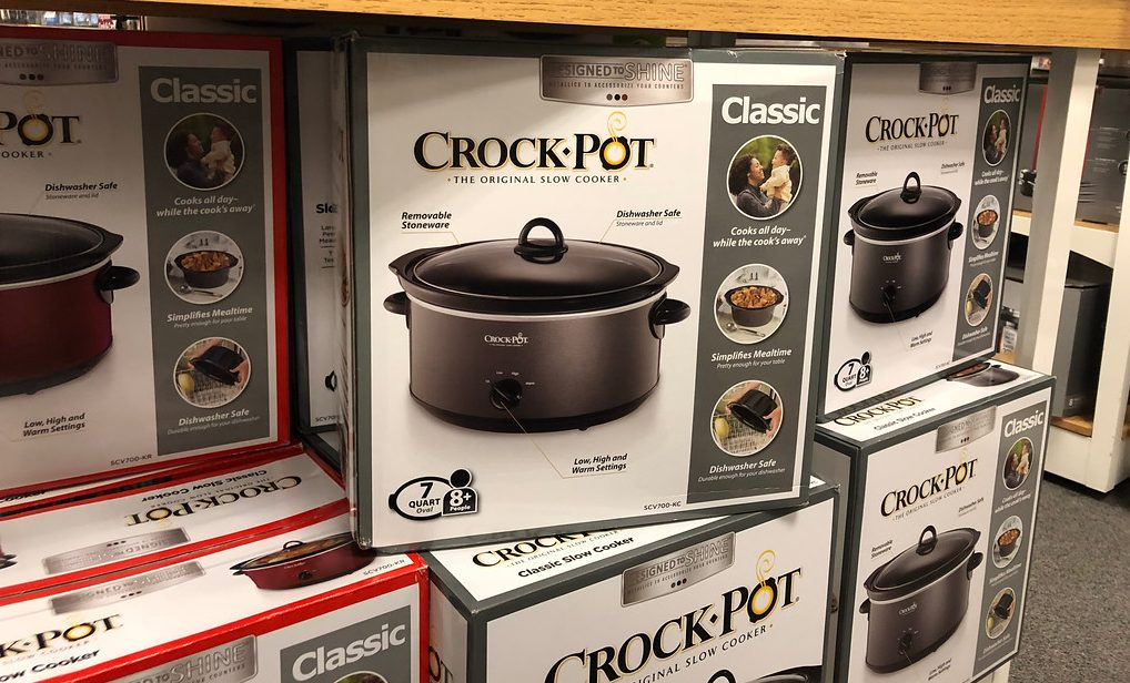 Crock-Pot Designed to Shine on shelf at Kohl's
