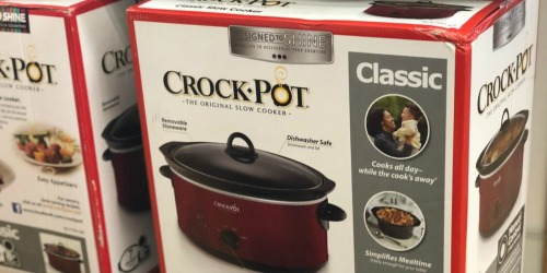 Crock-Pot 7-Quart Slow Cooker as Low as $10.99 Shipped After Kohl's Rebate (Regularly $40)