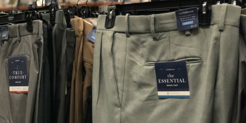 Men's Croft & Barrow Classic-Fit Essential Khaki Pants Only $10.39 at Kohl's