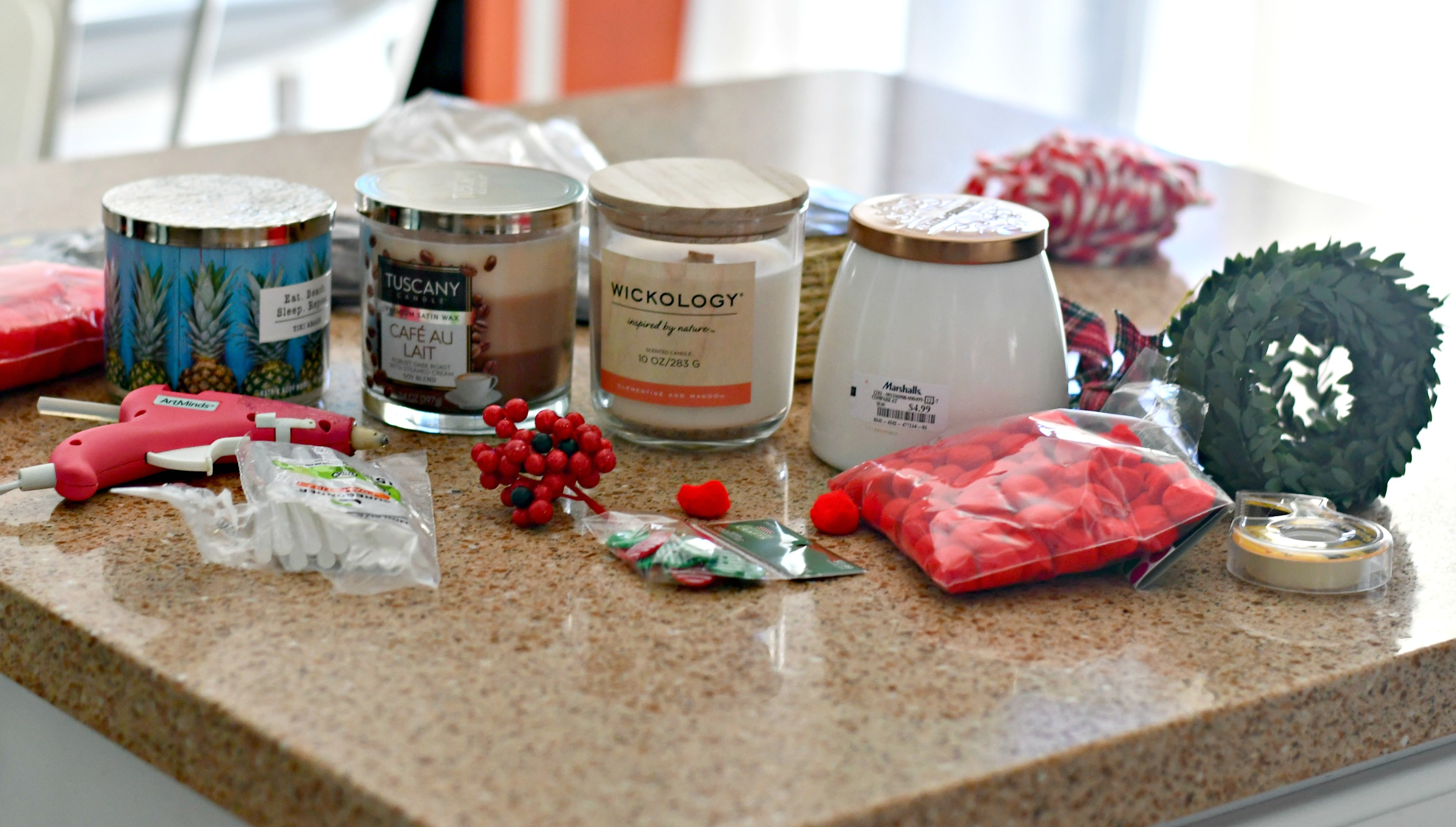 easy diy christmas candle gift ideas – Candles and decorations