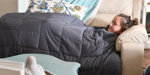 Kohl's Cardholders: Sharper Image 15LB Weighted Blanket as Low as $96 Shipped + Earn $10 Kohl's Cash & More