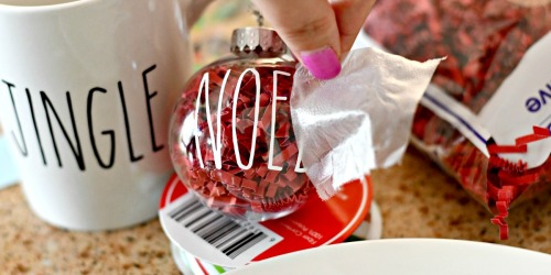 Make These Rae Dunn Inspired Christmas Crafts from Dollar Tree Items