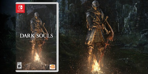 Dark Souls Remastered Nintendo Switch Game Only $28.99 Shipped (Regularly $40)