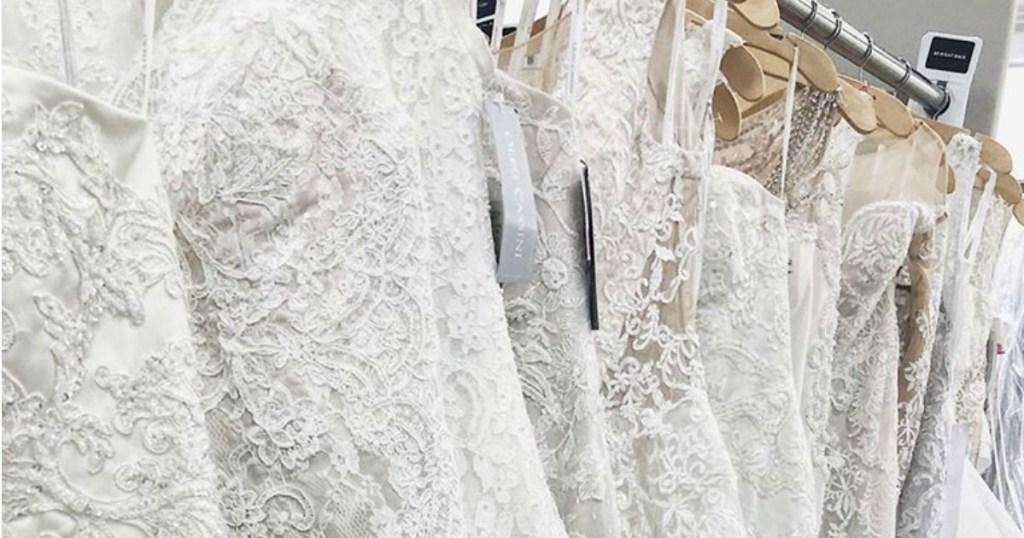 f0489f4956e3 David's Bridal Wedding Dresses as Low as $99, Bridesmaid Dresses Just  $19.99 & More