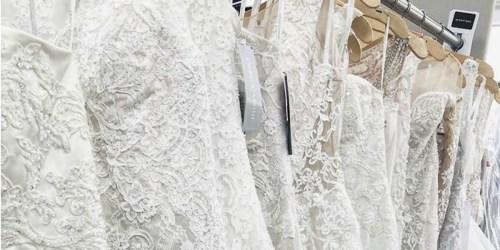 David's Bridal Wedding Dresses Just $99 (Regularly $400+)