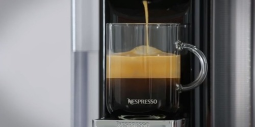 Amazon: De'Longhi Nespresso Single-Serve Coffee Machine + 30 Pods Only $99 Shipped