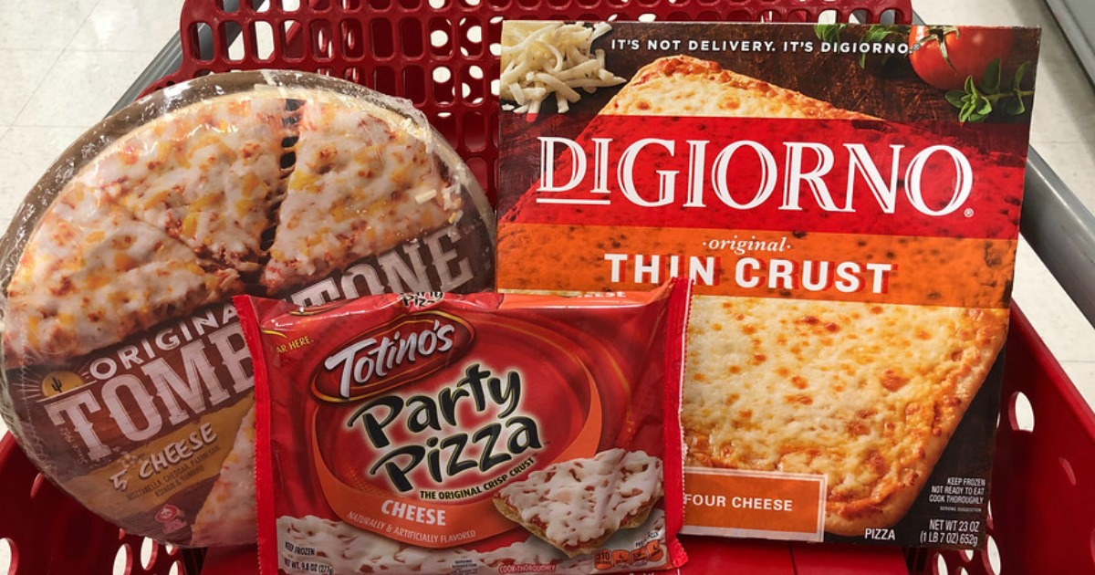 Over 25% Off ALL Frozen Pizza at Target (Starting 11/18)