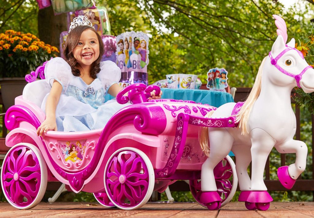 Disney Princess Carriage Ride On at Walmart