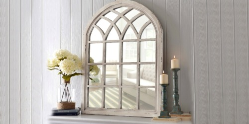 Distressed Arch Mirror Only $59 at Kirkland's (Regularly $170) – Today Only