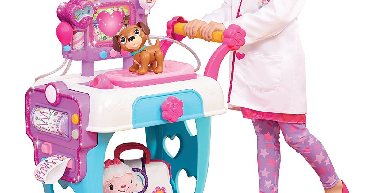 Doc Mcstuffins Toy Hospital Care Cart As Low As 19 88 Regularly 50