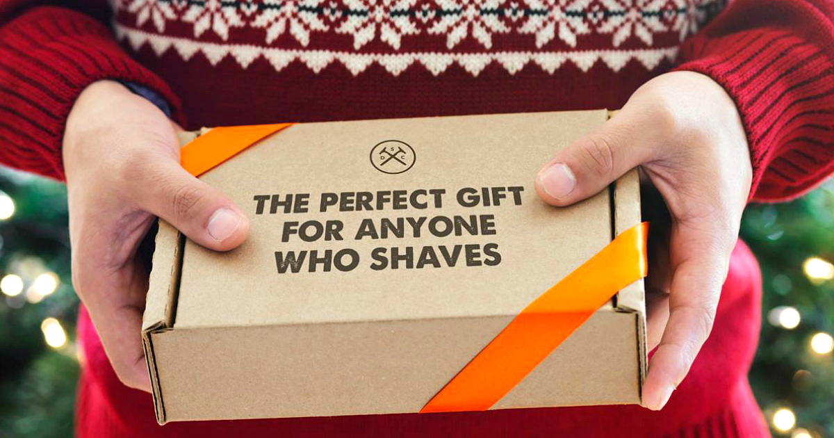 gift stocking stuffer deal shave – Dollar Shave Club Holiday Gift