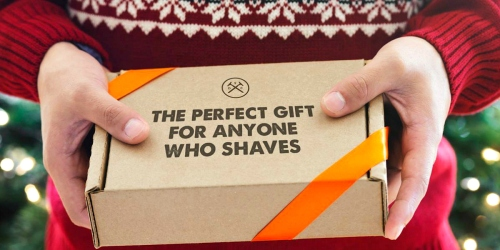 Dollar Shave Club Starter Kit ONLY $5 Shipped (Practical Gift or Stocking Stuffer Idea)