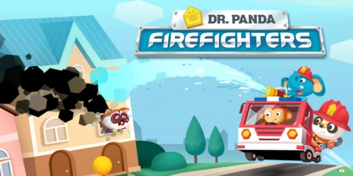 Free Dr. Panda Firefighters App (iOS & Android)