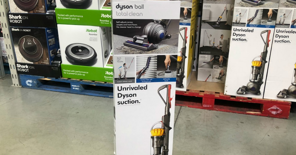 Sam S Club Dyson Ball Total Clean Vacuum Only 199 98