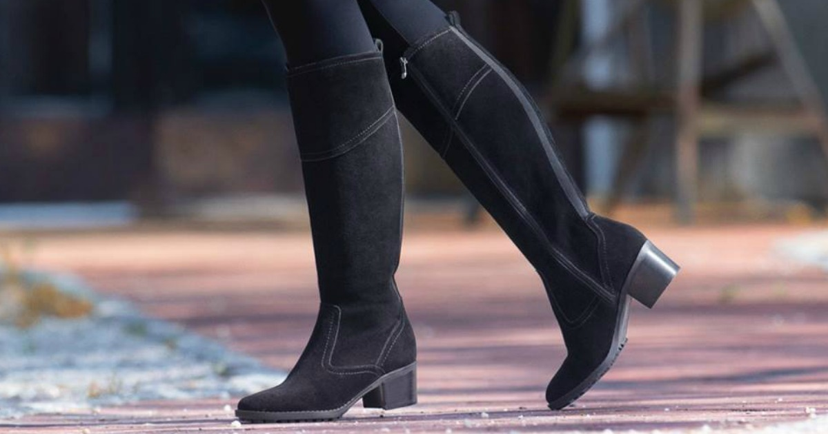 Up to 85% Off Easy Spirit Boots + Free