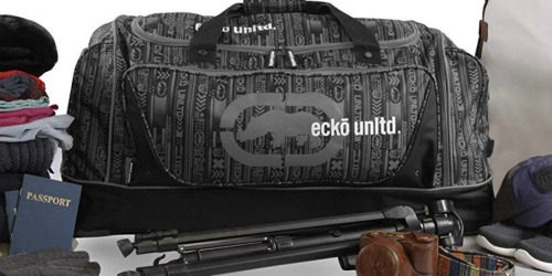 Kohl's Cardholders: Ecko Unltd 32″ Large Wheeled Duffel Only $38.49 Shipped (Regularly $150)