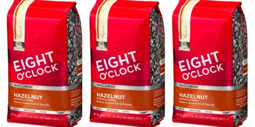 Amazon: Eight O'Clock Hazelnut Whole Bean Coffee 33oz Bag Only $9.90 Shipped