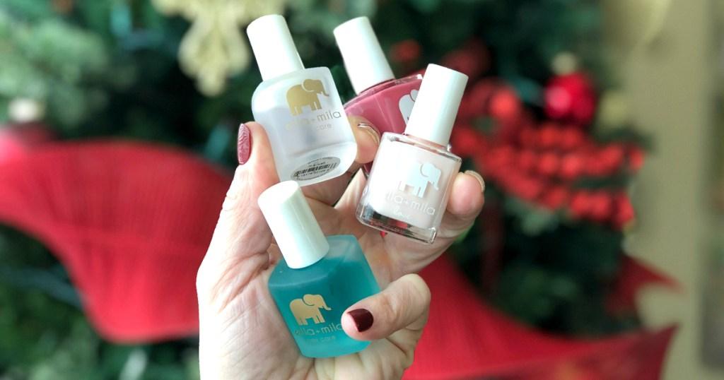Ella+mila holiday nail colors