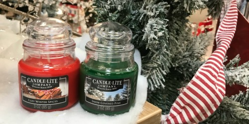 Free Candle-Lite Company Jar Candle for Kroger & Affiliate Shoppers (Load eCoupon Today Only)