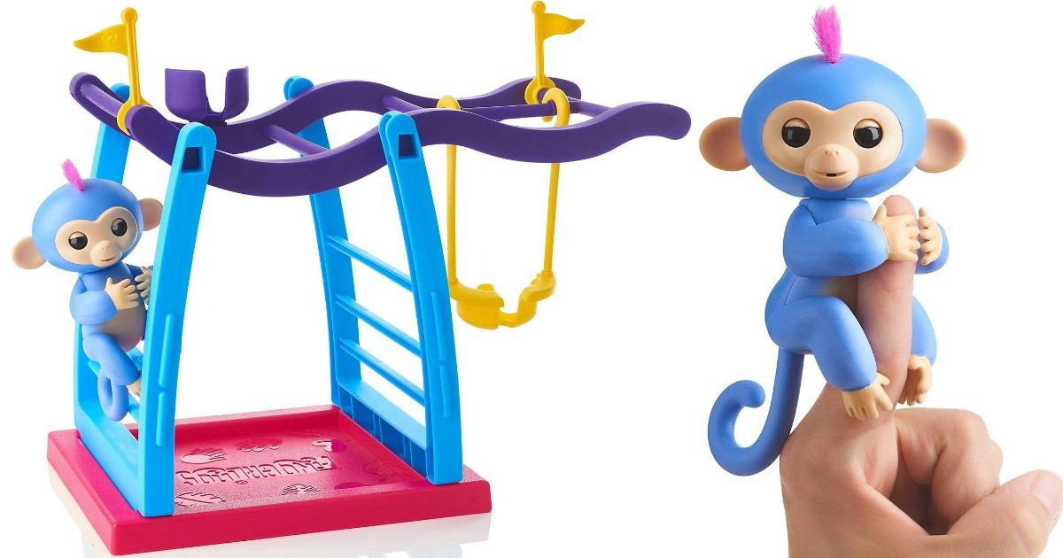 Fingerlings Monkey W Playset As Low As 9 74 Shipped