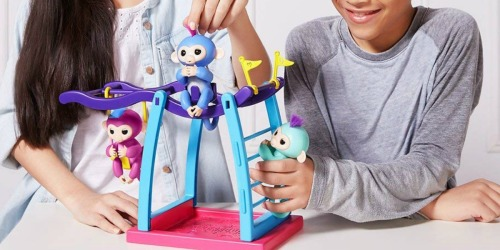 WowWee Fingerlings Playset w/ Two Fingerlings Only $10.97 Shipped (Regularly $40)
