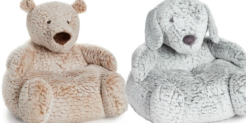 First Impressions Plush Bear or Puppy Kids Chair Just $20.93 at Macy's (Regularly $70)