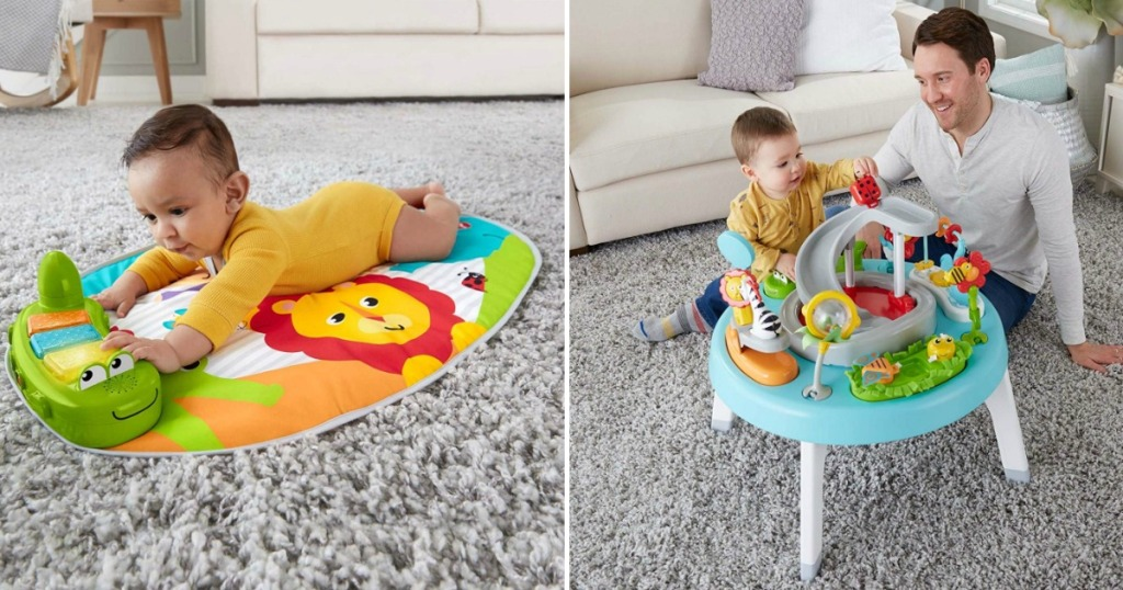 Amazon Fisher Price 3 In 1 Sit To Stand Activity Center