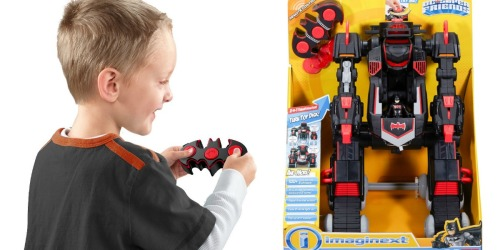 Fisher-Price Imaginext Remote Control Transforming Batbot Only $39.99 Shipped (Regularly $50)