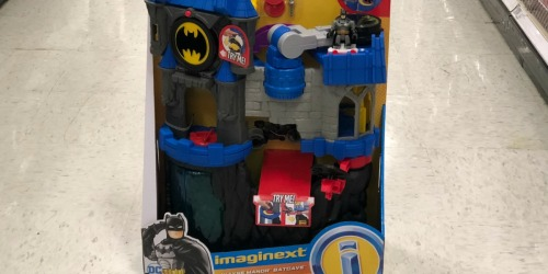 Fisher-Price Imaginext DC Super Friends Wayne Manor Batcave Only $34.73 Shipped (Regularly $50)