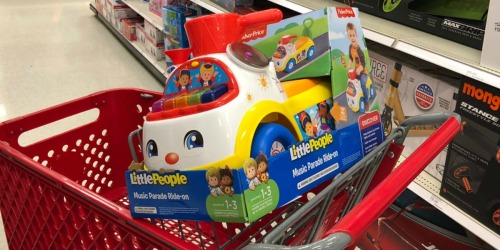 Up to 50% Off Ride-On Toys at Target (Fisher-Price Little People, Little Tikes, Disney & More)