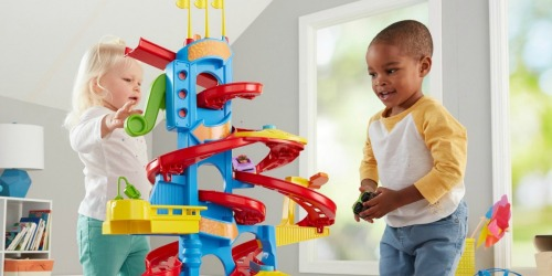 Fisher-Price Little People Spiral Speedway Only $22.49 Shipped (Regularly $36)