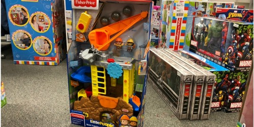 Fisher-Price Little People Work Construction Site Only $19.99 at Kohl's (Regularly $50) + More