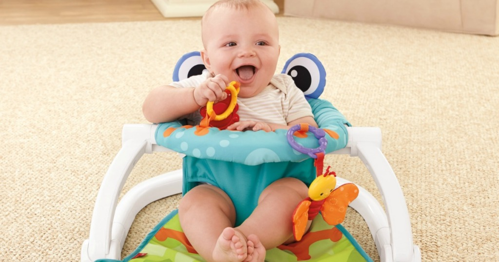 Fisher-Price Sit Me Up Floor Seat Just