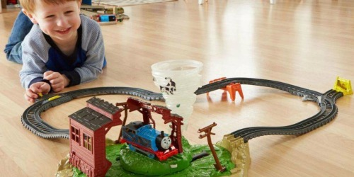 Fisher-Price Thomas & Friends TrackMaster Twisting Tornado Set Only $16.97 (Regularly $30)