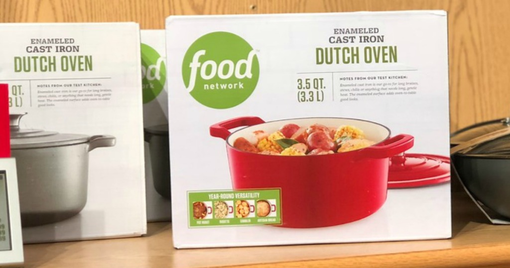 Food Network Cast-Iron Dutch Oven Only