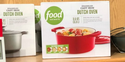 Food Network Cast-Iron Dutch Oven Only $15.49 After Kohl's Rebate (Regularly $60)