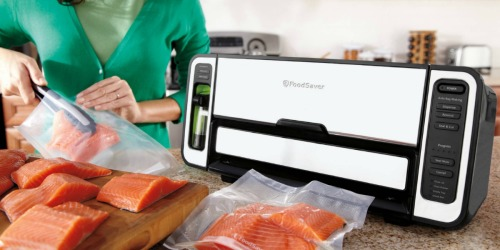 FoodSaver Vacuum Sealing System, Bags & Cutter Only $119.99 Shipped ($373 Value)