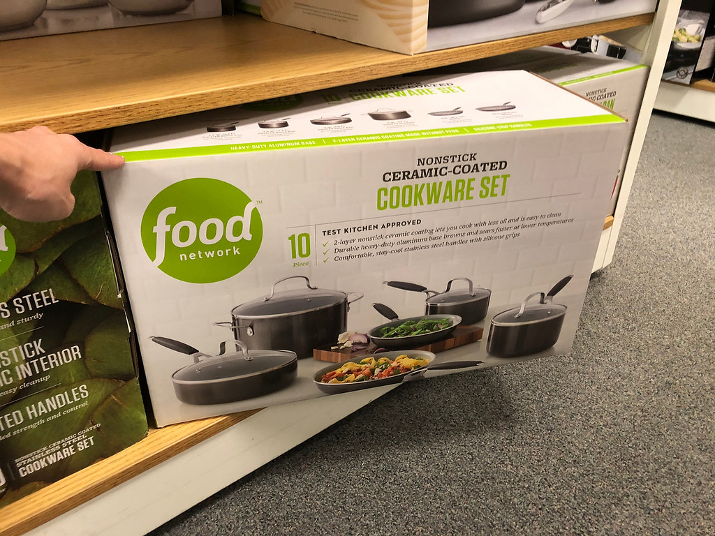 Food Network Cookware set box