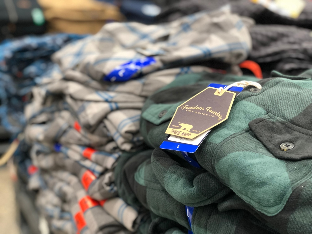 Freedom Foundry Men's Flannel Shirt at Costco