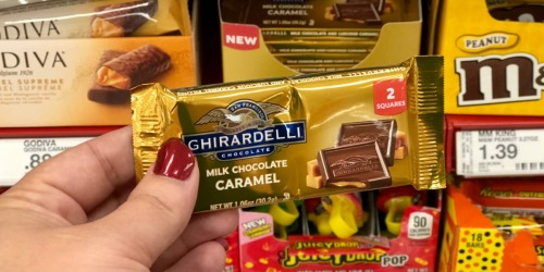 Ghirardelli Milk Chocolate Caramel Bars Only 89¢ at Target (Just Use Your Phone)