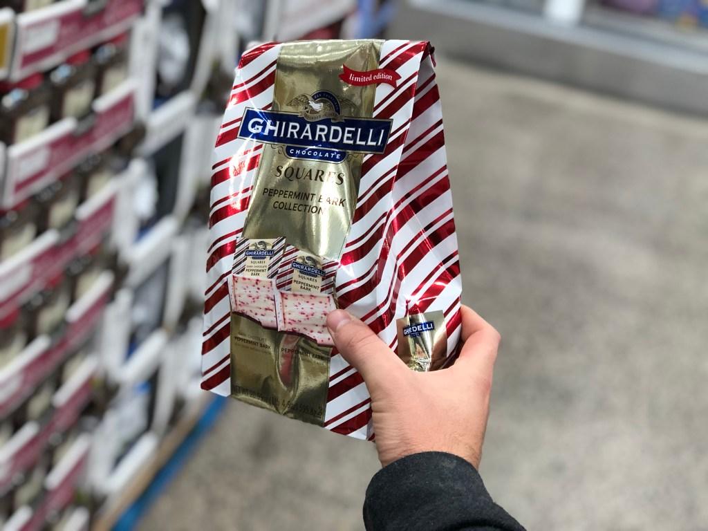 Ghirardelli chocolate at Costco