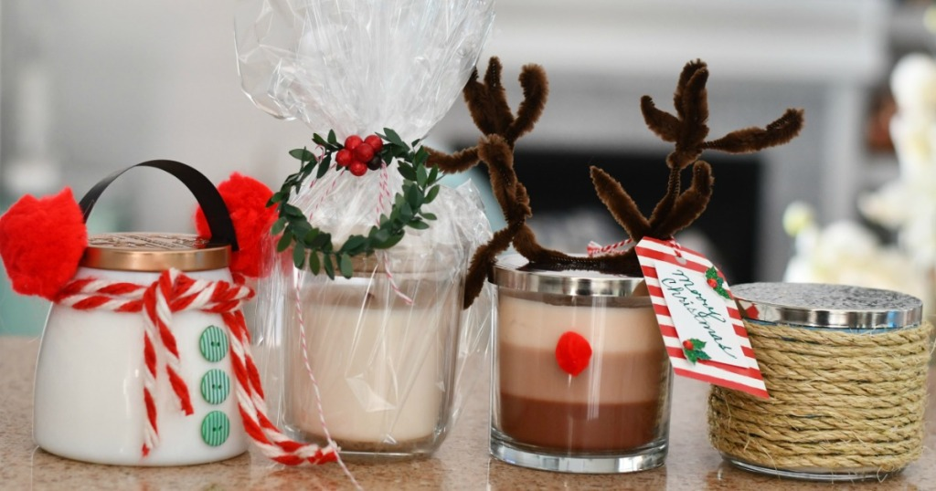 4 Easy & Unique Ideas to Gift a Candle This Christmas