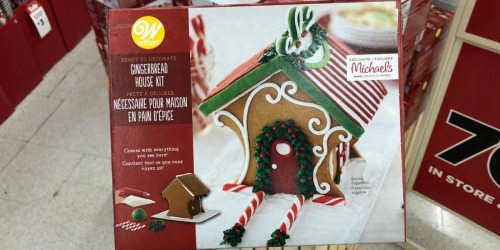 Wilton Gingerbread Kits Only $7 at Michaels