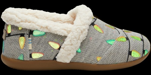 30% Off TOMS Christmas Slippers & Shoes (Includes Glow-in-the-Dark Styles)